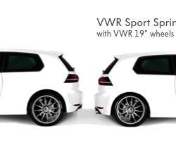 VWR Sport Springs (ACC compatible) [Mk7 GTI]