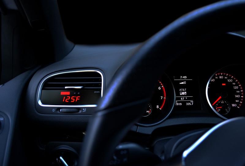 P3cars Vw Mk6 Gti Golf Jsw Vent Integrated Digital