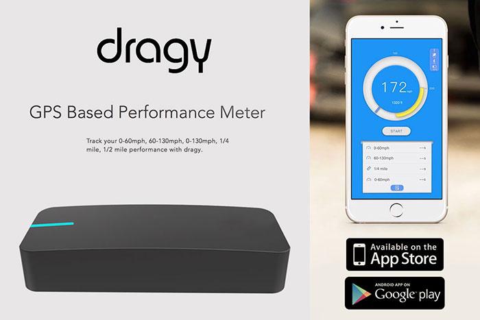 Dragy GPS Based Performance Meter