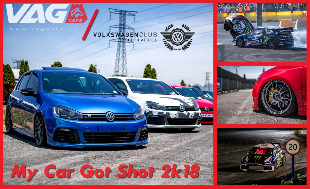 Solberg attends the VWCSA's My Car Got Shot! - VAG Cafe